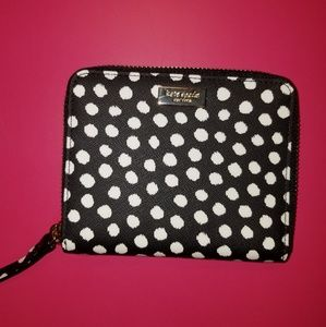 NWT authentic kate spade zip around bifold wallet